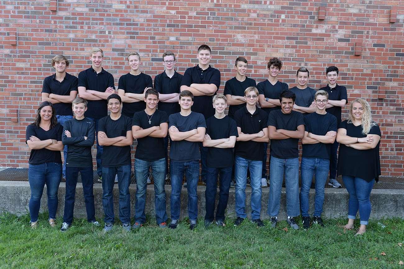 Boys Swim Dive Team Photo