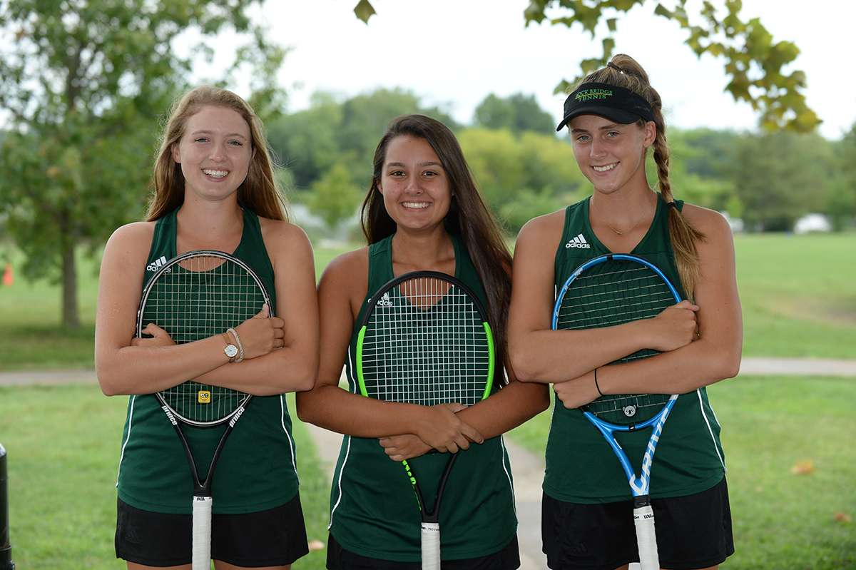 Girls Tennis Team Photo
