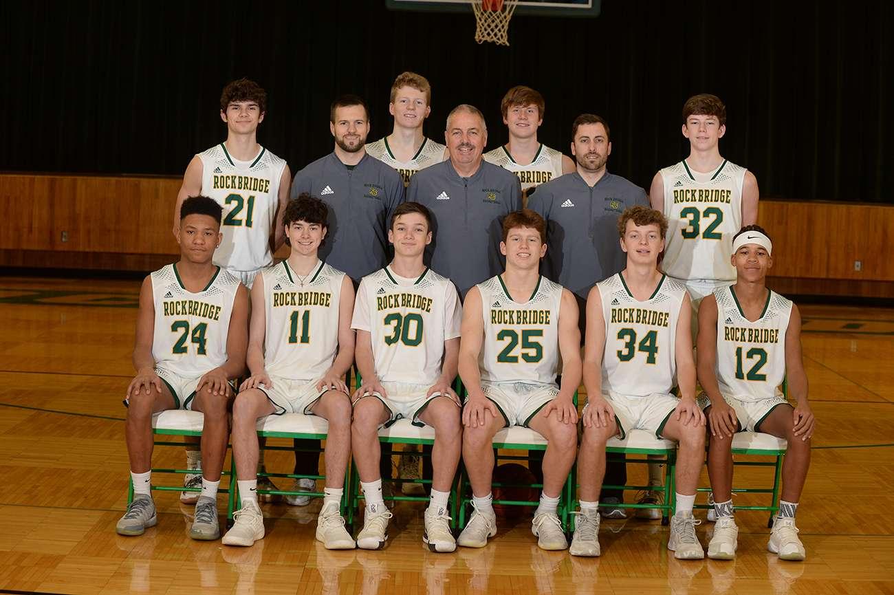 Boys Basketball Team Photo