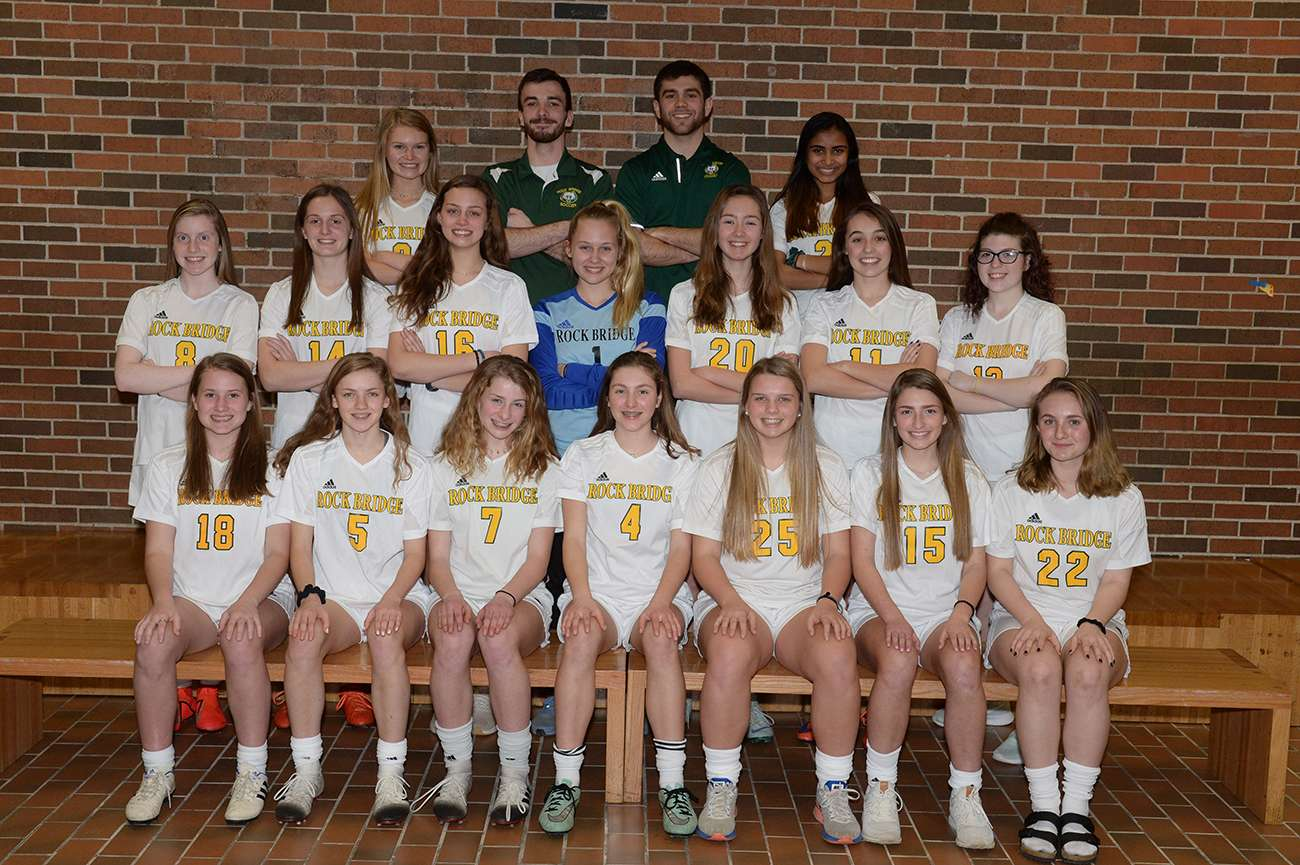 Girls Soccer Team Photo