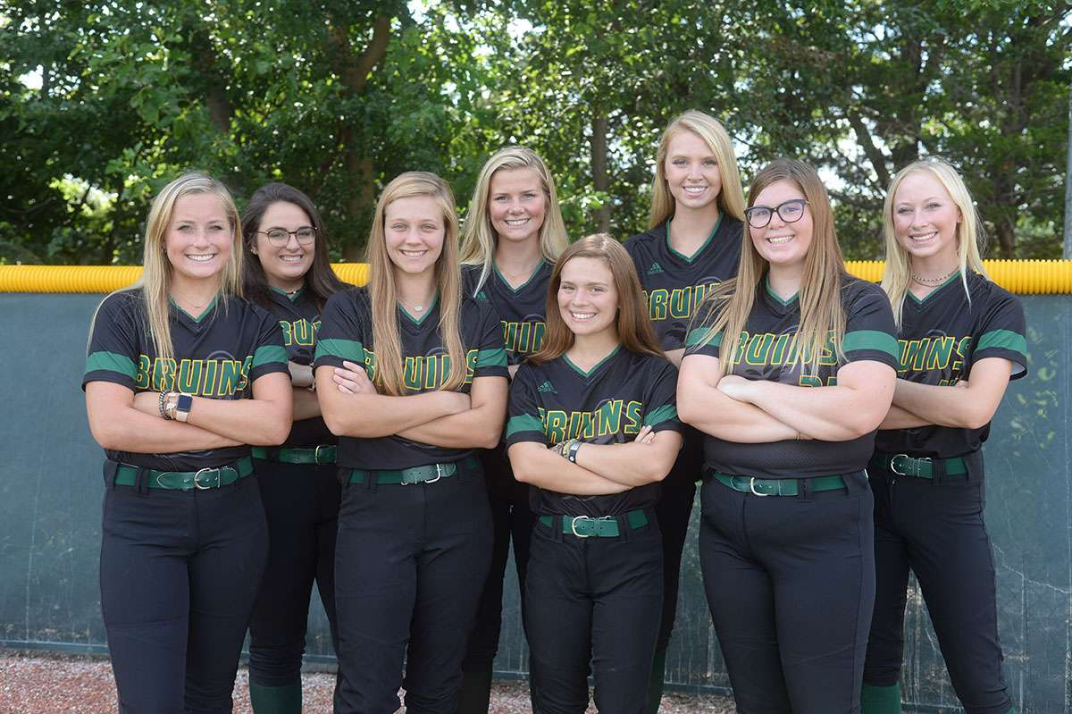Softball Team Photo