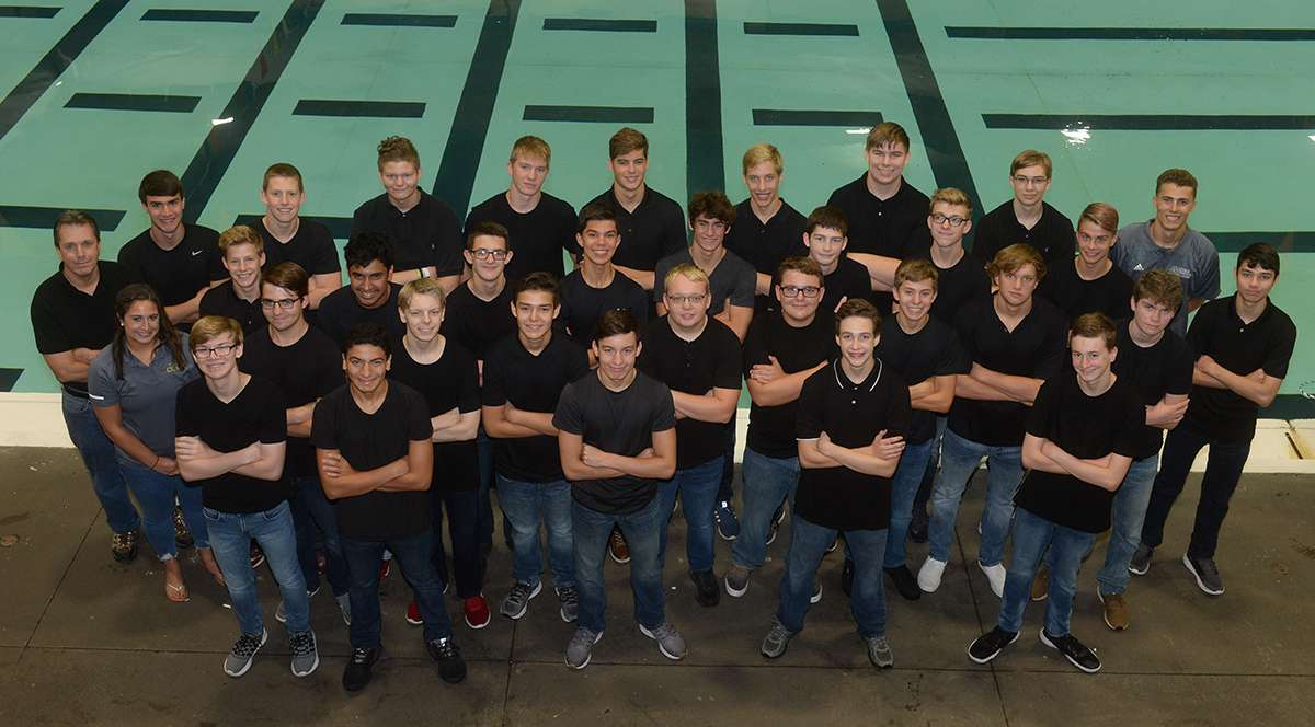 Boys Swim Dive Team Photo