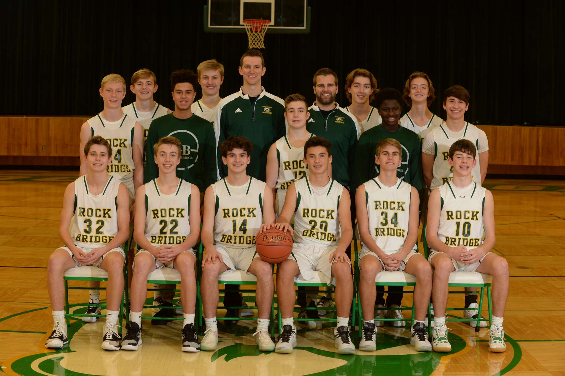 Boys Basketball Team Photo
