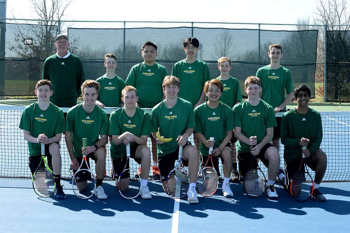 Boys Tennis Team Photo