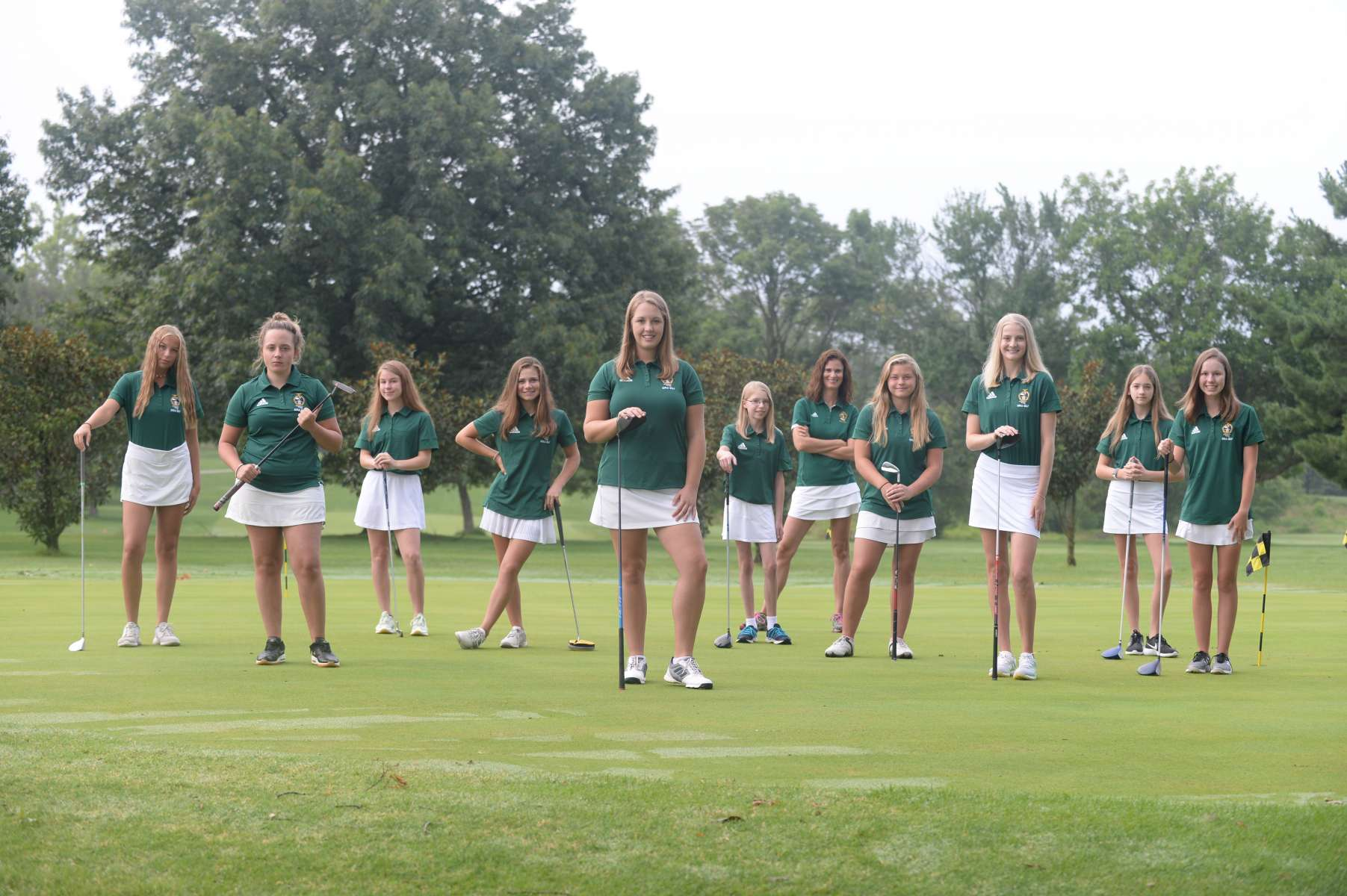 Girls Golf Team Photo